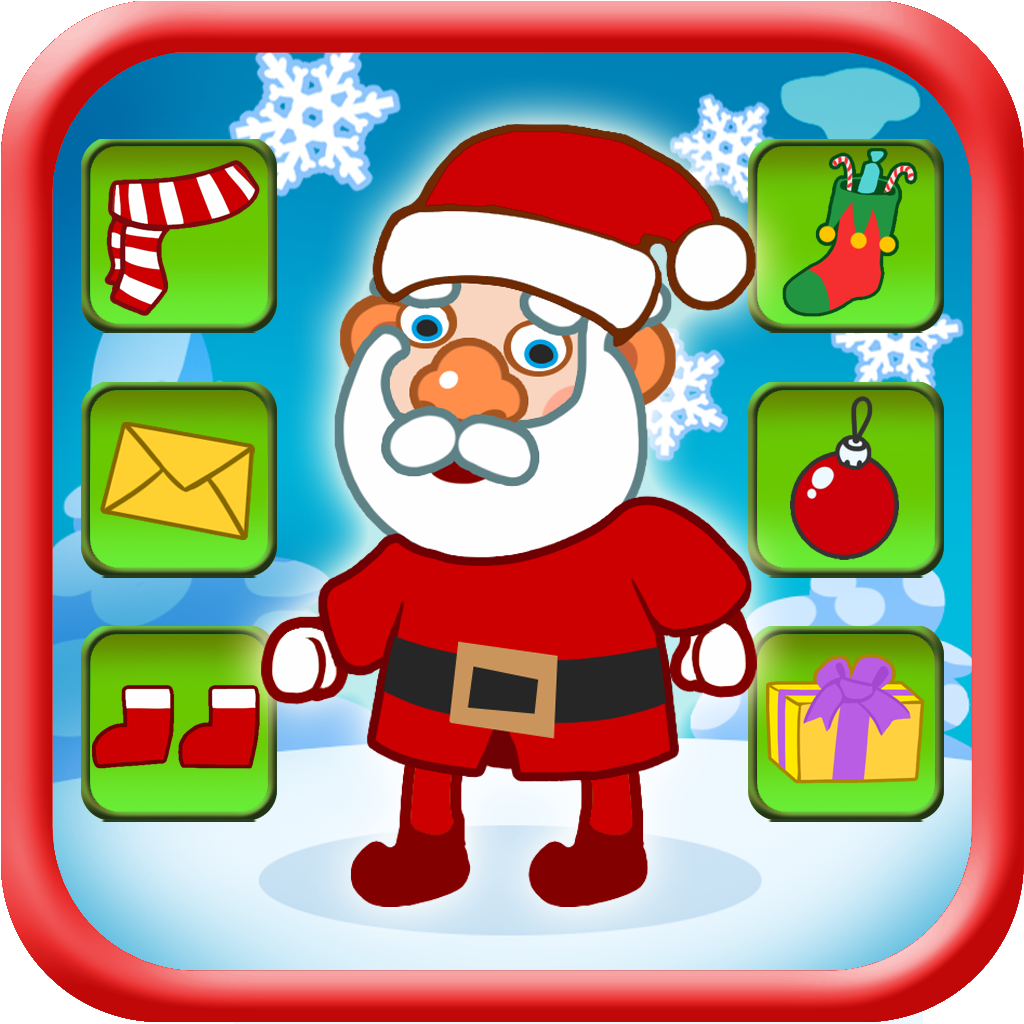 Dressing up Santa - Christmas Game